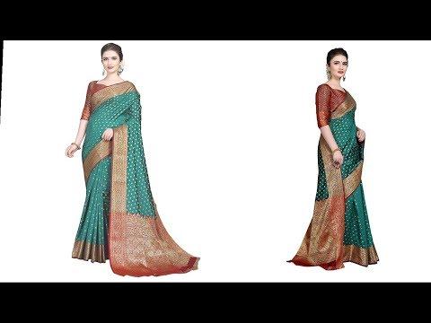 Amazon Banarasi Silk Kanjivaram   Saree true review..