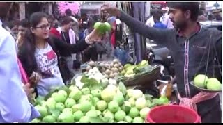 Street Foods Of Kolkata... Fresh Guava, White Berry, Naseberry, Ros...