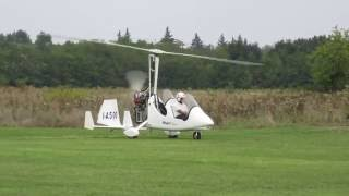 Aviosuperfice Astigiana AT decollo autogiro 04 SET 2016