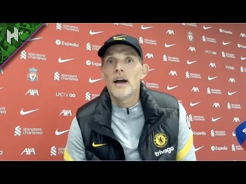 The referee only saw an image on VAR! | Liverpool 1-1 Chelsea | Thomas Tuchel press conference