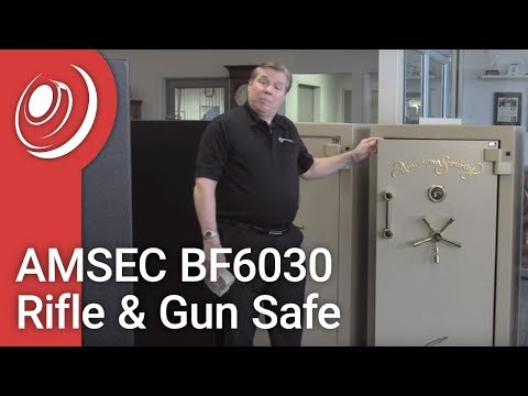 AMSEC BF6030 Rifle & Gun Safe With Dye The Safe Guy