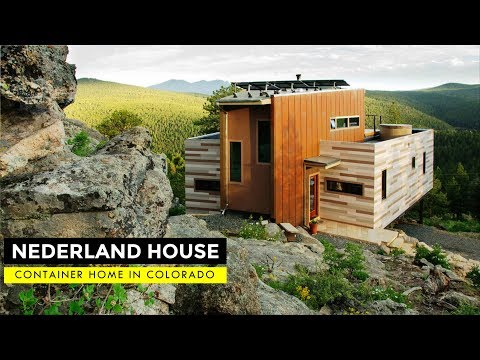 Nederland Container House: Colorado Off-grid Mountain Home