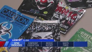 Officers seeing rise in Spike overdoses