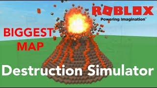 Roblox 💥Destruction Simulator Biggest Map/LVL (E11)