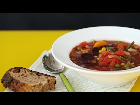 Freezer Vegetable Soup - Martha Stewart