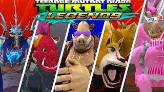 ЧЕРЕПАШКИ НИНДЗЯ   СОСТАВЫ ПОДПИСЧИКОВ   НОВЫЕ СЕРИИ мобильная игра видео для детей TMNT Legends