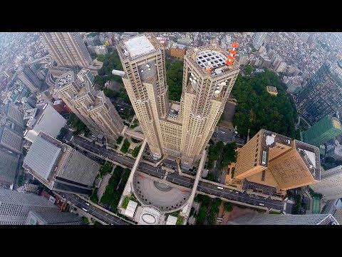 DJI Phantom 2 @ Tokyo Metropolitan Government & Shinjuku Imperial Garden
