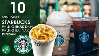 10 Minuman Starbucks Paling Enak dan Banyak Dipesan