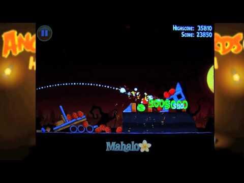 Angry Birds Halloween: 3-4 - 동영상
