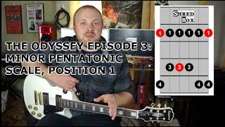 The Odyssey Episode 3, MINOR PENTATONIC POSITION 1