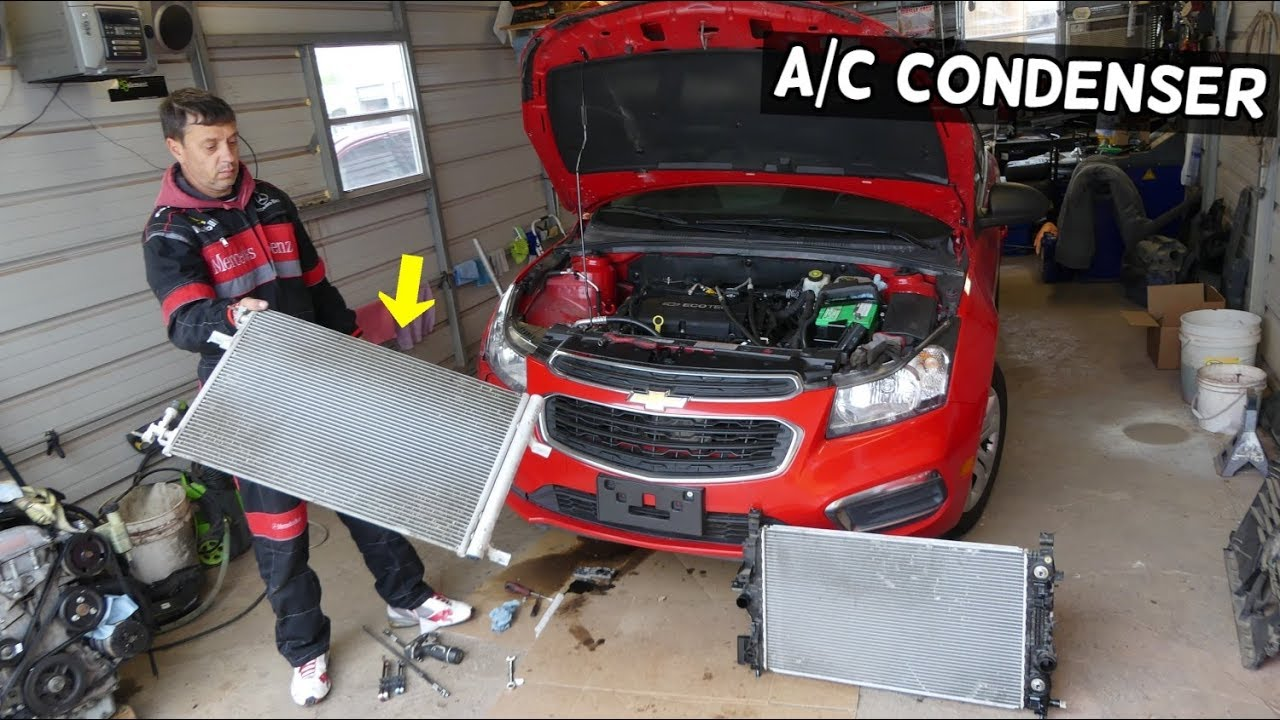 Chevrolet Cruze Ac Condenser Replacement Removal Chevy Sonic