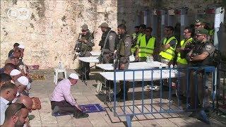 Mashine za usalama za Israel zawaghadhabisha Waislamu Jerusalem