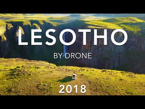 LESOTHO BY DRONE