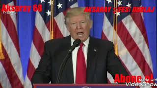 Gambar cover Trump  Müslüman olursa :)  İSLAMİ VERSİYON إذا أصبح المشبك فيديو مسلم.