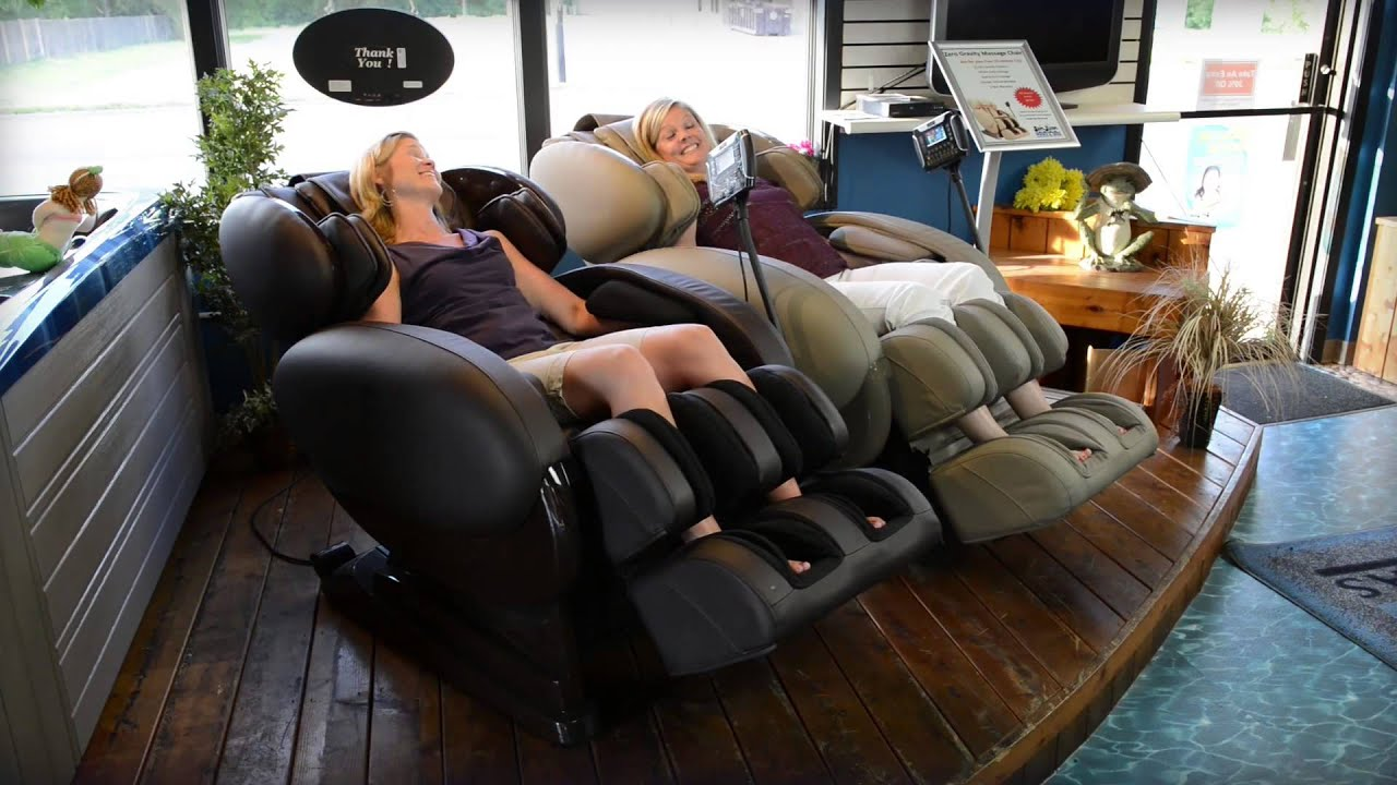 Infinite Therapeutics Zero Gravity Massage Chairs  YouTube