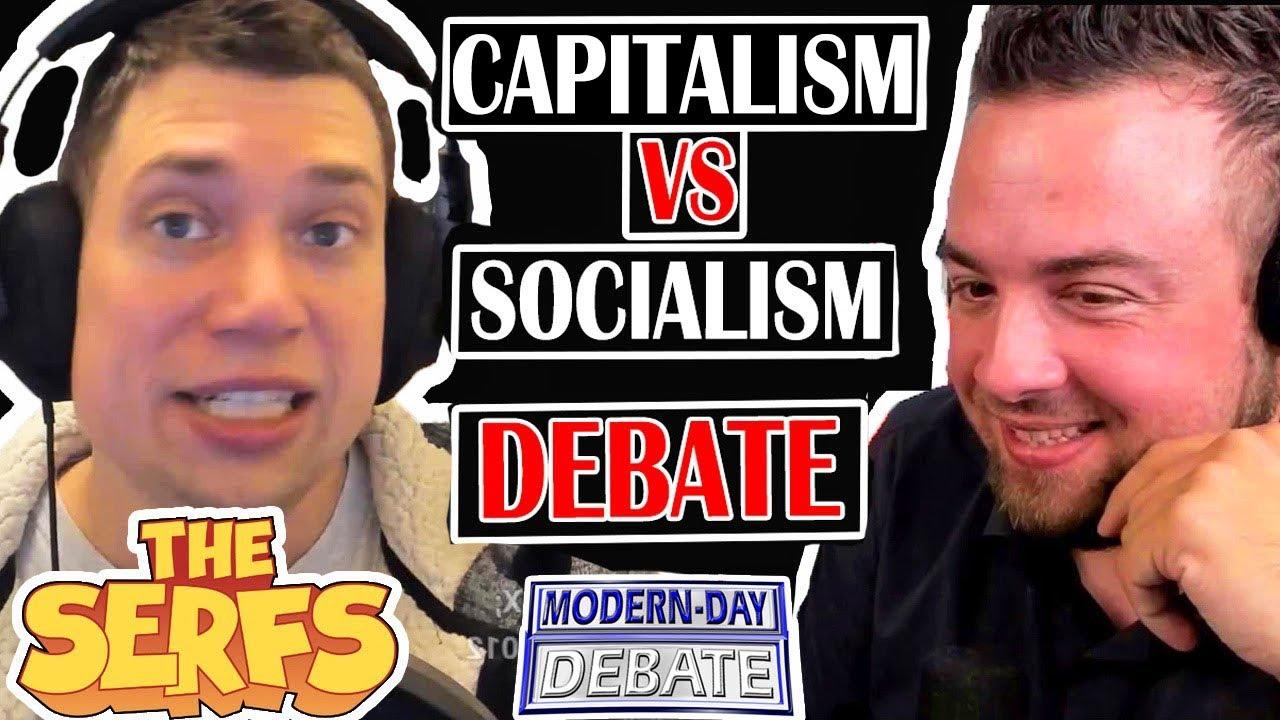 Download DEBATE: JF Vs Lance of The Serfs   Socialism Vs Capitalism   Debate Podcast