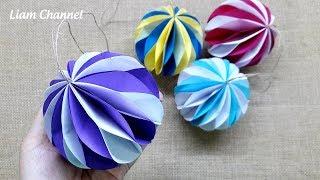 How to make paper ball | Honeycomb Pom Pom | Liam Channel