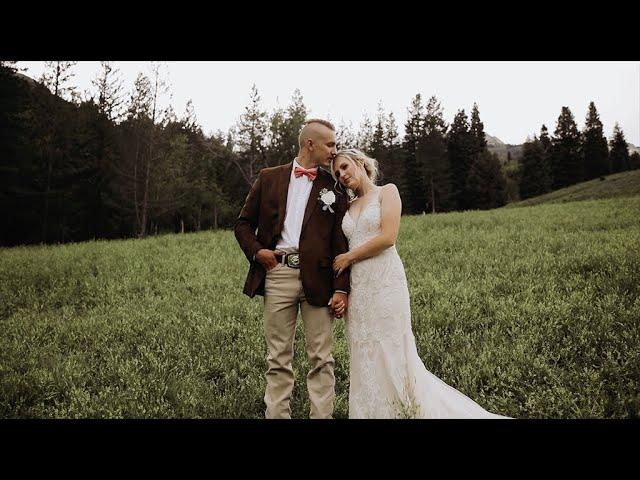 Best Wedding Cake Smash Of All Times! | Taylor & Brady | Utah Wedding | Granite Flats