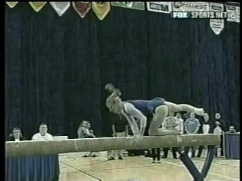 Kristin Parker - 2003 Pac 10 Championships Balance Beam