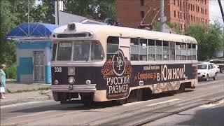 Trams in Khabarovsk