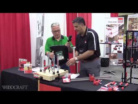 New Clamp Innovations from Bessey Tools at Woodcraft