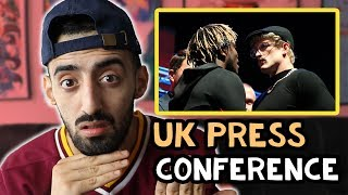 Reacting To KSI vs Logan 2 UK Press Conference