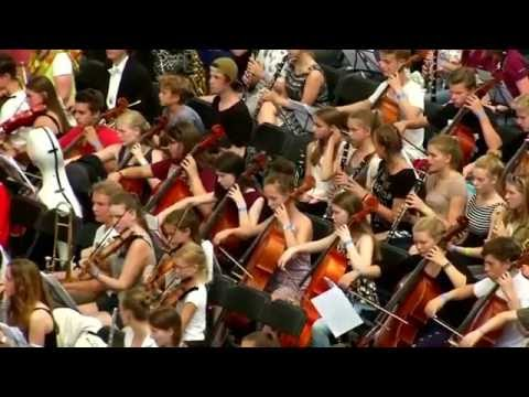 Frankfurt sets record for the world's largest orchestra