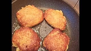 Золотистые ДРАНИКИ с ФАРШЕМ проверенный рецепт дерунов колдуны просто картошка с фаршем