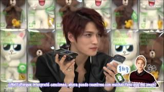 [Sub Español] HD 130311 Conversación de Jaejoong y Junsu en LINE