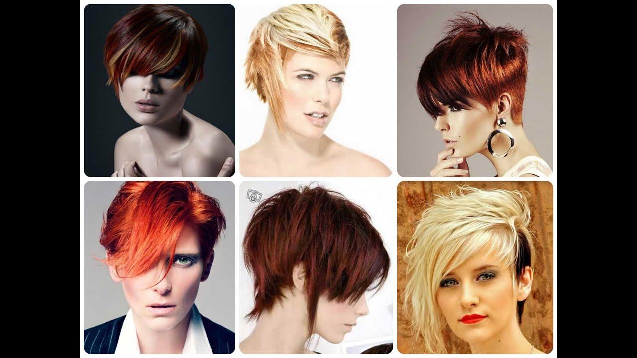 Красивые стрижки и покраска волос на короткие волосы