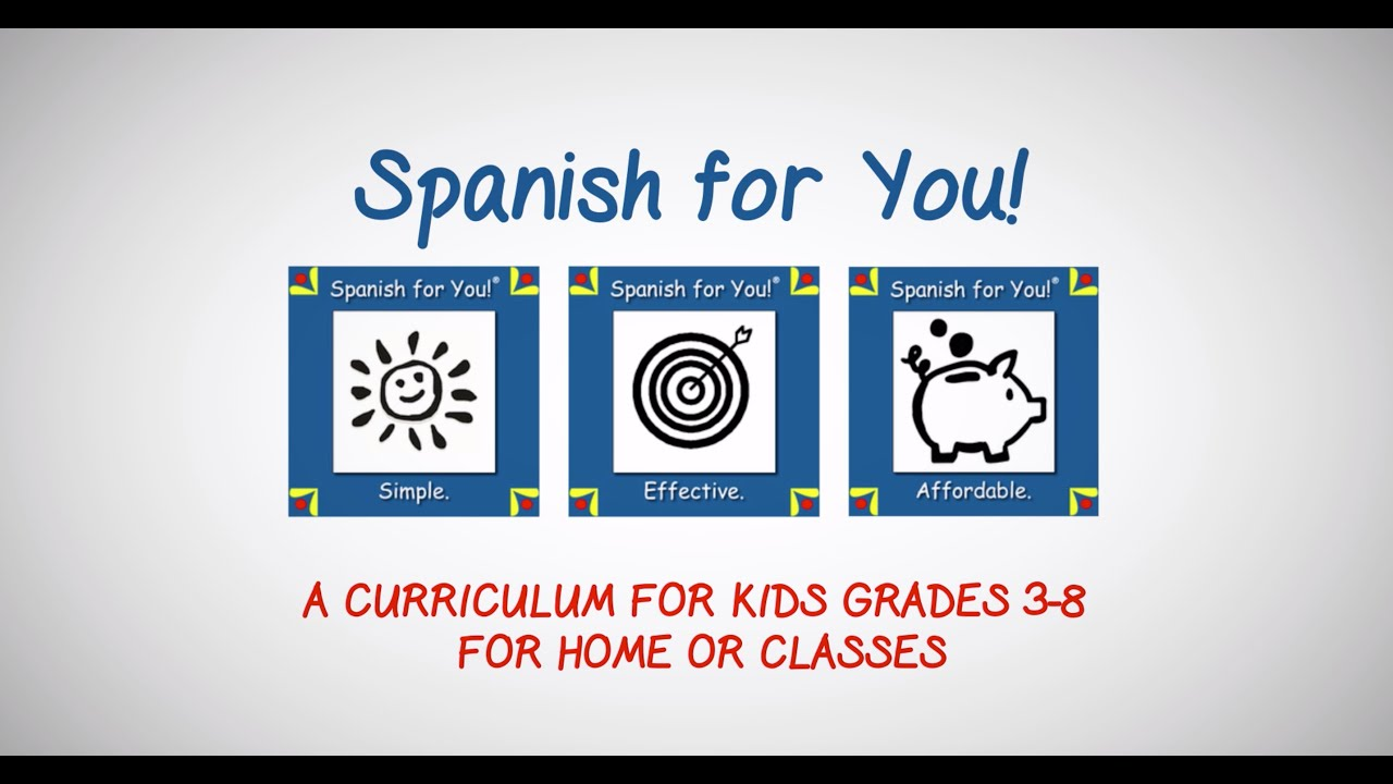 FREE Spanish Mini Lessons for Kids | Spanish for You