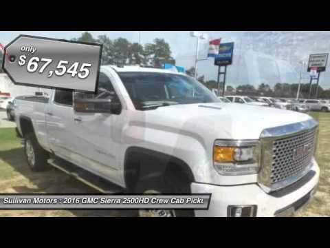 2016 Gmc Sierra 2500hd Sullivan Motors Collins Ms