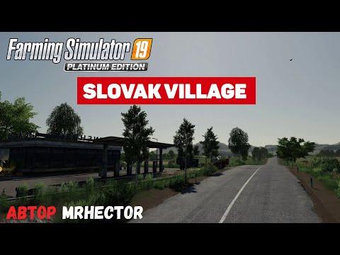 Farming Simulator 19 Slovak Village - Первая карта с золотом #Посмотрим
