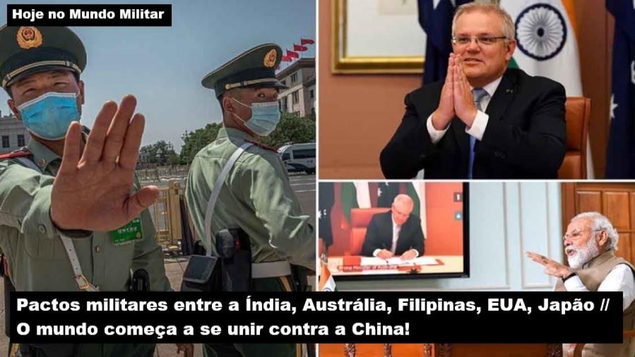 O mundo começa a se unir contra a China