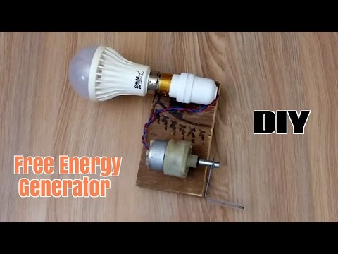 How to Make a Free Energy Generator  - Homemade