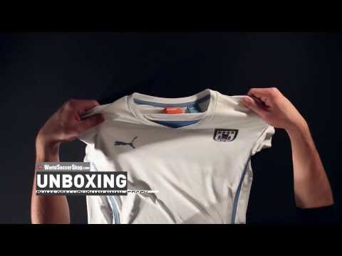 Puma 2014 Uruguay Away Jersey - Unboxing