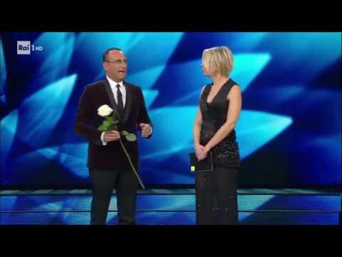 Sanremo 2017 - Carlo Conti e Maria De Filippi aprono la prima serata del Festival