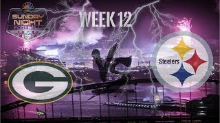 Its Game Day!!!    Pittsburgh Steelers Vs Green Bay Packers    Week 12 Pump Up **HD Quality**