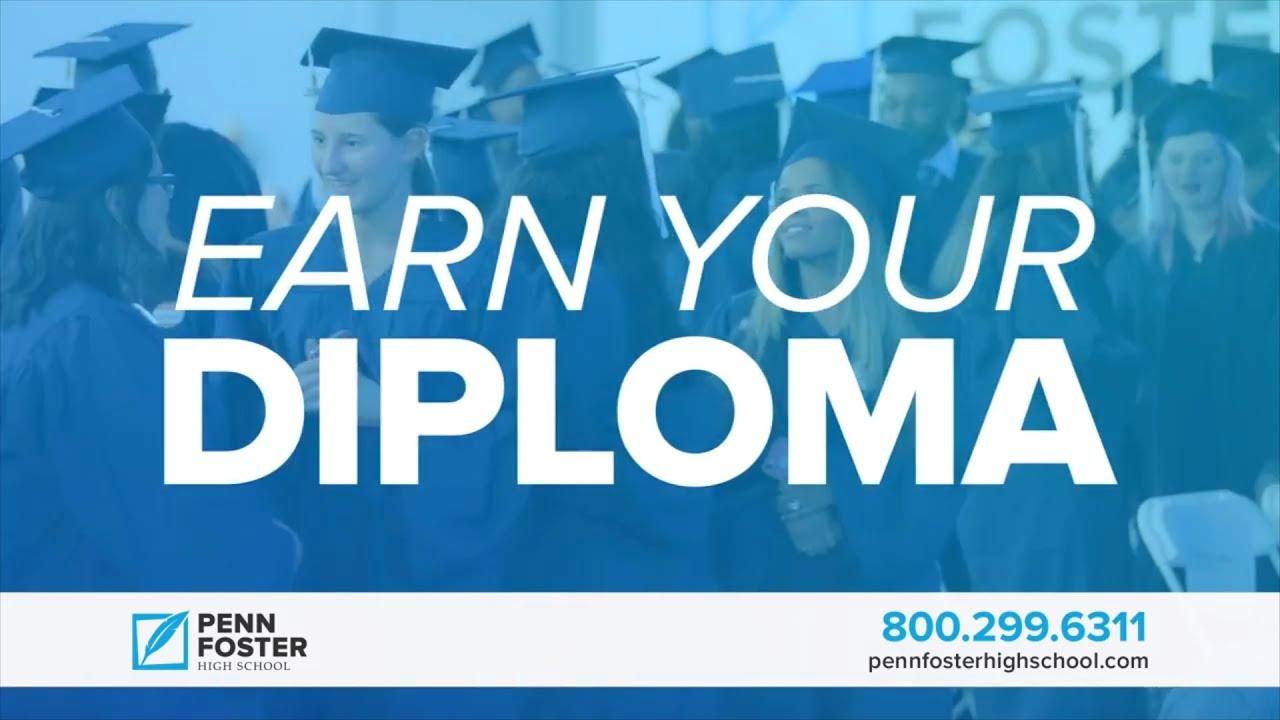 You Can Earn Your High School Diploma Penn Foster Youtube