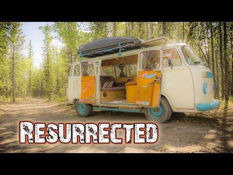 VW BUS RESTORATION (After Fire)
