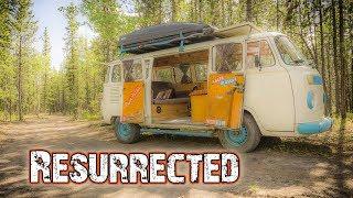 VW BUS RESTORATION (After Fire) - Hasta Alaska - S05E08
