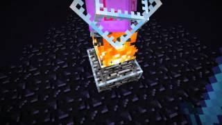 Minecraft X   как сделать портал в энд  эндер мир(КАК сделать портал в эндермэн мир и всё о нём . ( извините я там немного занубил на портале ), 2014-03-02T04:26:10.000Z)