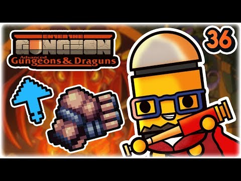 Alien Engine Synergy | Part 36 | Let's Play: Enter the Gungeon Advanced Gungeons and Draguns | AG&D