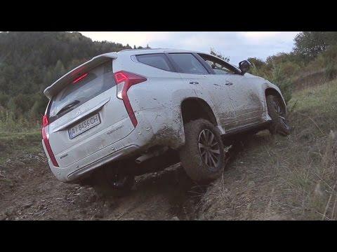Veddroshow. Mitsubishi Pajero Sport 2016.Тест-драйв OFFROAD.