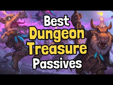 Ranking the Dungeon Run Passive Treasures - Hearthstone