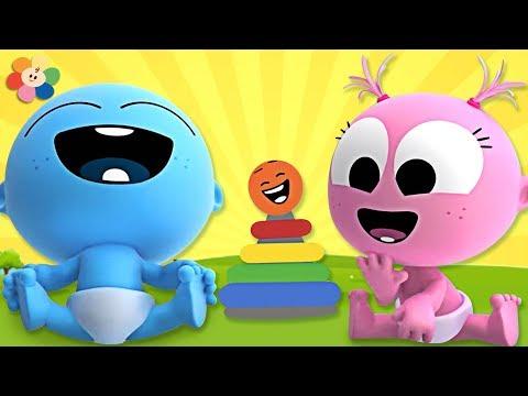 Laughing Song With GooGoo & GaaGaa Baby | +More Nursery Rhymes & Kids Songs & Kindergarten Songs