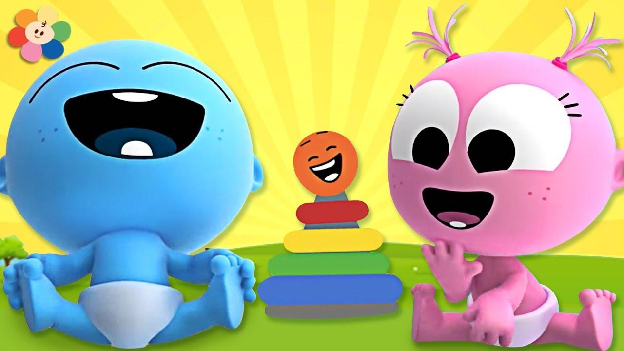 Laughing Song With GooGoo & GaaGaa Baby   +More Nursery Rhymes & Kids Songs  & Kindergarten Songs