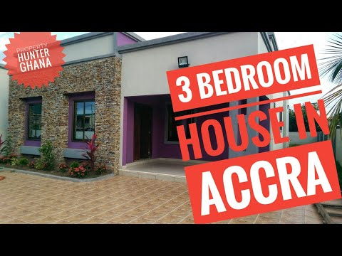 3 Bedroom House In Accra, Old Ashongman Near Academic City University