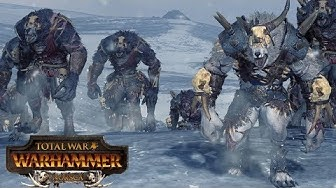 1200 Werewolves vs 2500 Vampires - Total War Warhammer Norsca DLC Gameplay