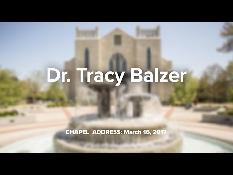 Dr. Tracy Balzer (March 16, 2017)